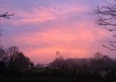 Sunset at Sheamah Holistic Therapies