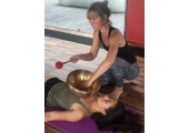 Yoga and Sound with Tibetan bowl