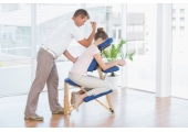 Seated Acupressure - On Site Chair Massage