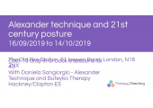 Daniela Sangiorgio - Alexander Technique and Buteyko Therapy Hackney/Clapton E5 image 1