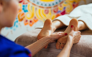 Finding relief with reflexology: Katie's story