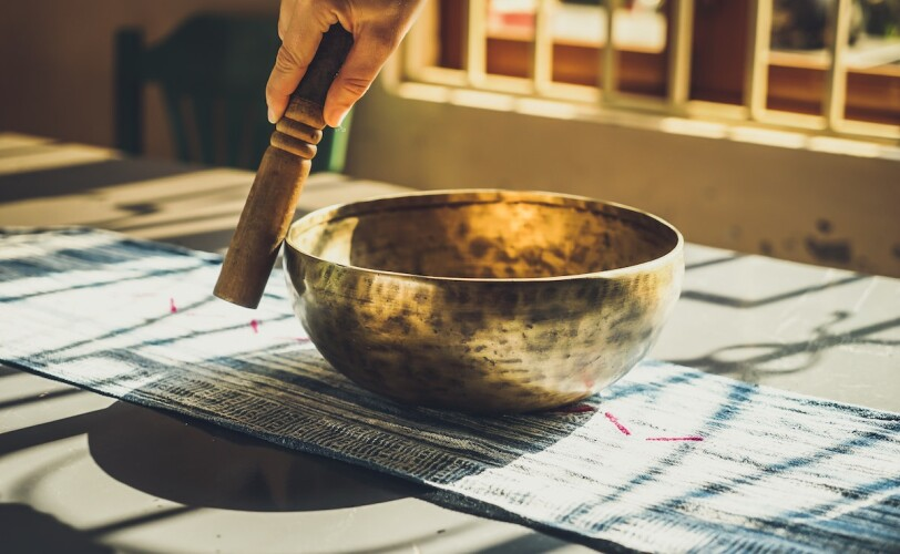 Image of a healing sound bowl